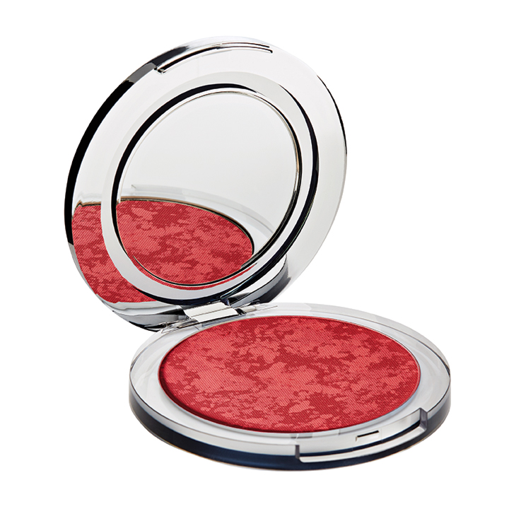 Skin Perfecting Powder Blushing Act Berry